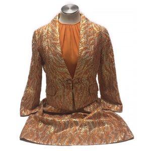 Vintage Saks Fifth Avenue Dress Jacket Coc…